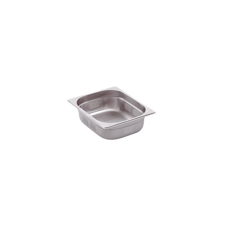 Bac gastronorme inox perfore gn 2 3 for Bac a poisson inox