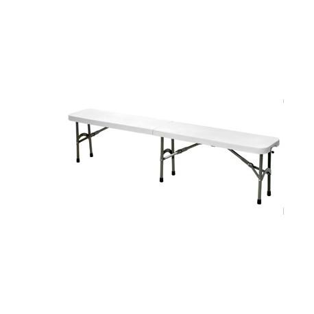 banc pliable multi usage pour table pliante. Black Bedroom Furniture Sets. Home Design Ideas
