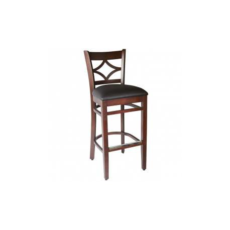 lot de 2 tabourets chaise haute bistrot milano confort. Black Bedroom Furniture Sets. Home Design Ideas
