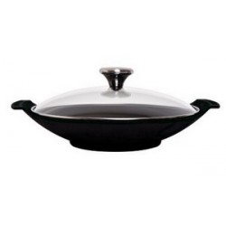 assiette wok en fonte le creuset. Black Bedroom Furniture Sets. Home Design Ideas