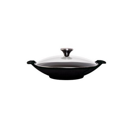 assiette wok en fonte le creuset. Black Bedroom Furniture Sets. Home Design Ideas