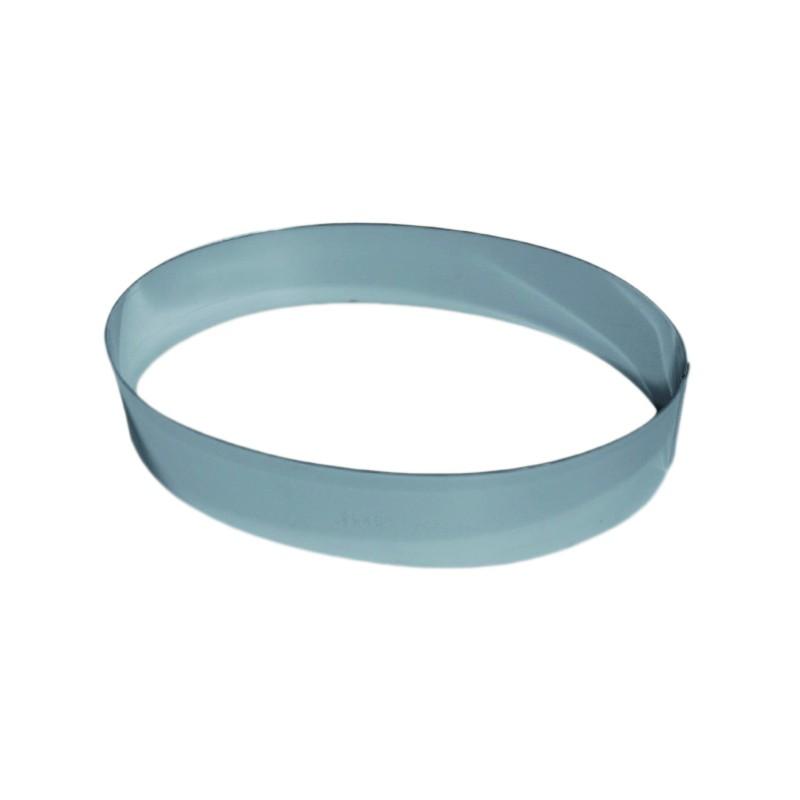 Moule inox forme ovale pour mousse hauteur 4 5 cm - Mousse pour coussin exterieur ...