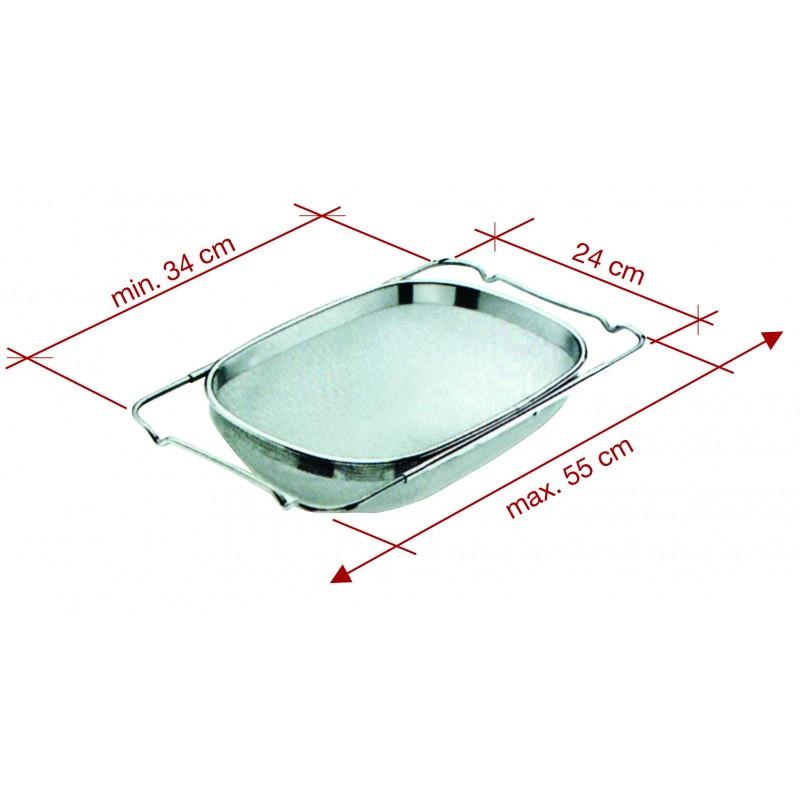sup rieur cendrier d exterieur sur pied 6 passoire inox valdiz. Black Bedroom Furniture Sets. Home Design Ideas