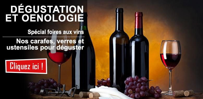 Spécial foire aux vins : tout le matériel pour l'oenologie à domicile !
