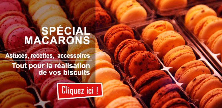 Spécial Macarons : tous les ustensiles et accessoires pour réaliser vos macarons !