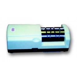 Aiguiseur électrique avec disque d'aiguisage, et disque d'affilage