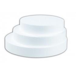 Disque polystyrène hauteur 4cm par lot