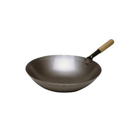 Poele sauteuse wok en acier