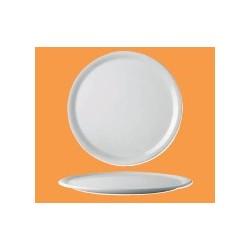 Assiettes à pizza en porcelaine hôtelière (x6)