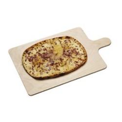 Planche à flammenkueche ou pizza en hêtre