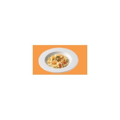6 assiettes à pâtes DELTA