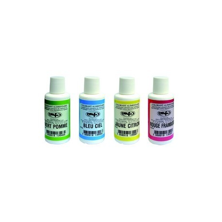 Colorant liquide alimentaire (flacon 100 ml)
