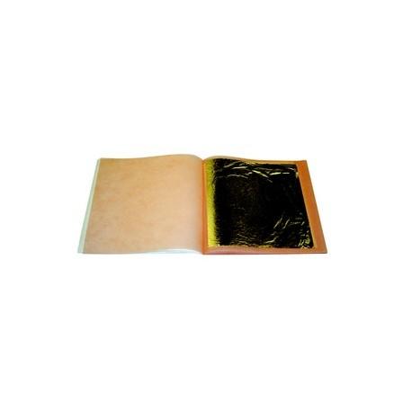Carnet de 25 feuilles argent ou or (8x8cm)