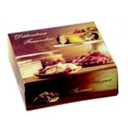 Boite a tarte en carton carre imprime par 50