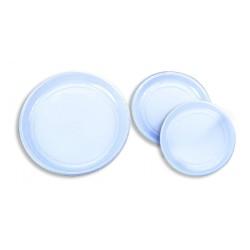 Assiette jetable ronde blanche (x100)
