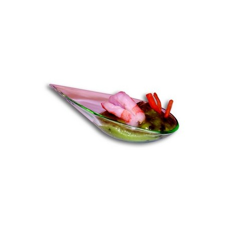 """Verrine """"goutte"""" plastique effet verre (x50)"""