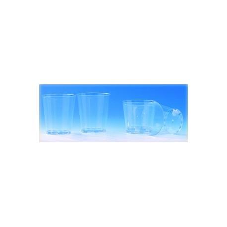 Verre jetable plastique cristal (x40)