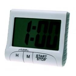 Minuteur 20 h chrono dos aimanté affichage digital