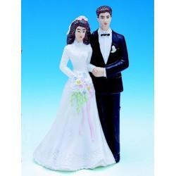 Sujet decor gateau piece montee mariage