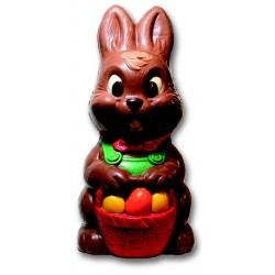 Moule à chocolat lapin en polycarbonate (480mm)