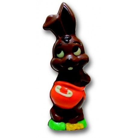 Moule a chocolat bebe lapin en polycarbonate (180mm)