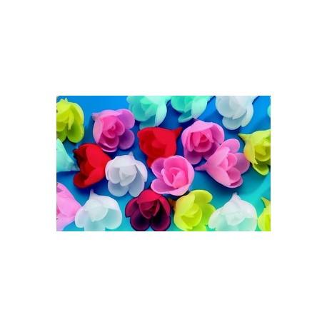 Roses en azyme pour decorer vos gateaux (x72)