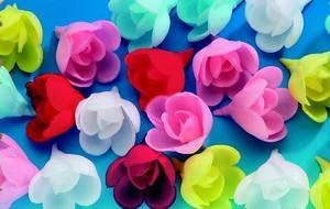 decoration gateau fleur azyme