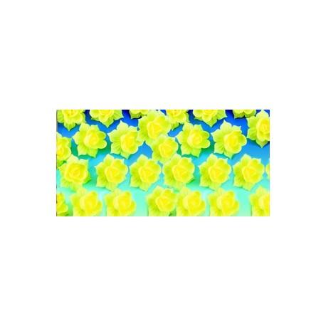 Decors azyme jonquille jaune pour gateaux/dessert (x28)