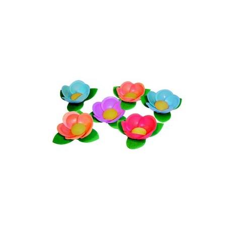 Decors azyme fleur bali assortie (x35)