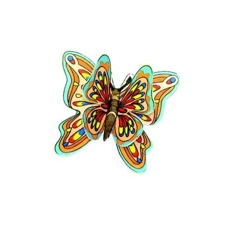 Decors azyme papillon double gateau/dessert (x44)