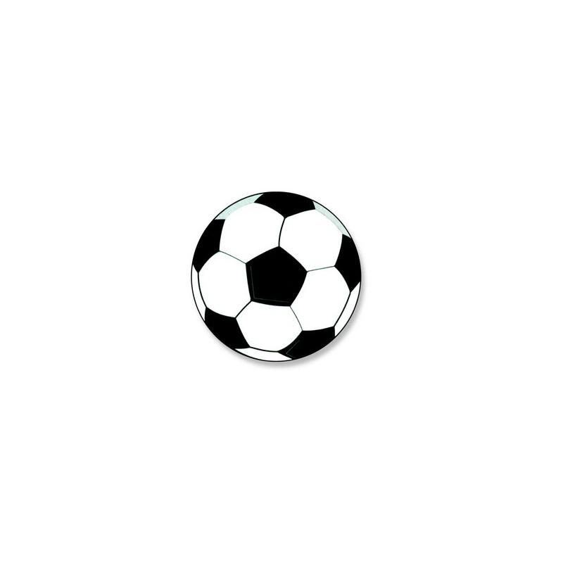 Decors azyme ballon de football aromatise vanille x50 - Ballon de foot a imprimer ...