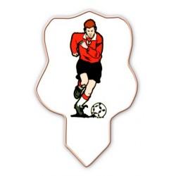 Pique joueurs de football en décors azyme (x75)
