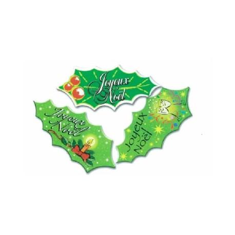 Decors azyme aromatise feuilles de houx par 24