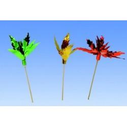 Decors palmier papier metallise pour glace, gateau, dessert (x144)