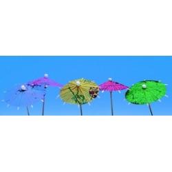 144 décors glaces desserts ombrelle papier