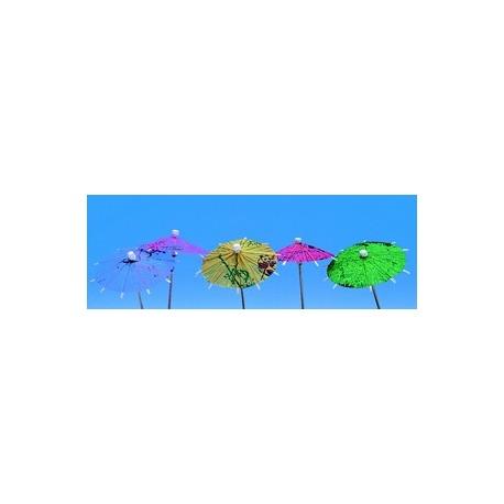 144 decors glaces desserts ombrelle papier