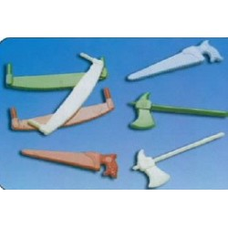Petits outils assortis pour decors buche noel par 500