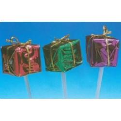 Mini paquets cadeaux pour décors bûches et gâteaux par 100