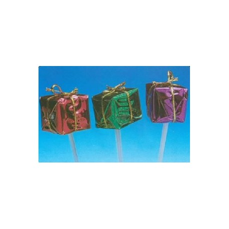 Mini paquets cadeaux pour decors buches et gateaux par 100