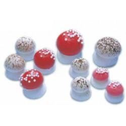 Champignons en sucre pour décoration gâteaux par 100