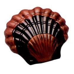 Moule a chocolat coquille st jacques en polycarbonate