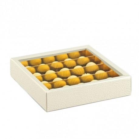 Boîte à chocolats 14.5x14.5x3.5cm (x50)