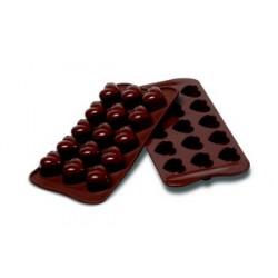 """Plaque silicone pour chocolat """"easy choc"""""""