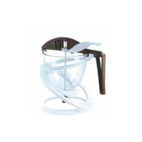 Entonnoir polycarbonate à piston 0.80 l funnel choc