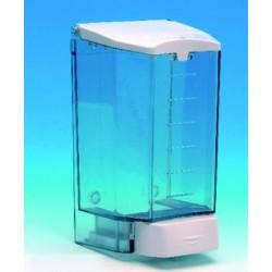 Distributeur de savon liquide corps abs transparent 1.1l