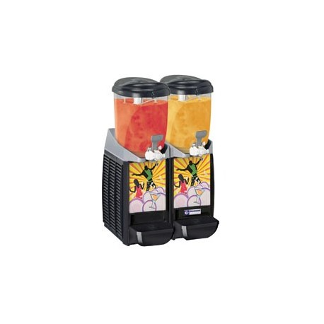 Machine/distributeur granita 2 x 5,5 litres