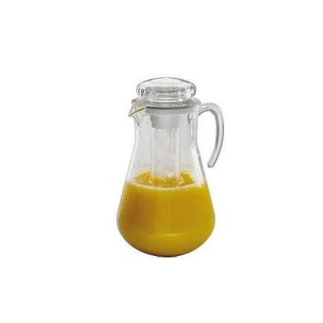 Pichet à jus de fruits modèle bonbonne 3 litres