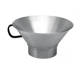 Egouttoir à friture inox ou aluminium: frites, beignets, churros