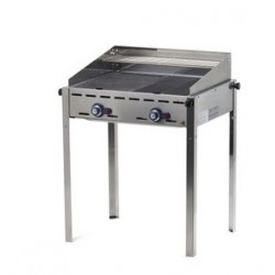 Barbecue gaz green fire avec 2 brûleurs
