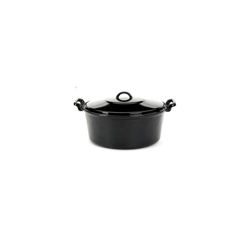 marmite fait tout en fonte 10 litres. Black Bedroom Furniture Sets. Home Design Ideas